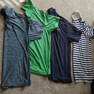 Ralph Lauren and 2 under armour 45$ for 4 shirts